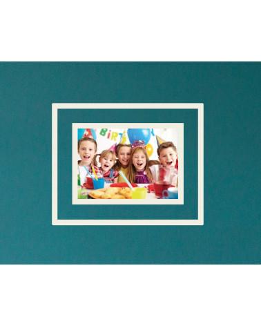 Cadre photo passe-partout 20x30cm - A4 - Pale Grey - SlimPYX