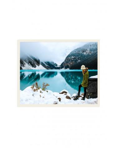 Cadre Photo 40x50 cm pale grey - SLIMPYX