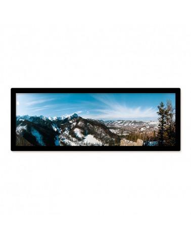 Cadre panoramique 15x45cm Noir - SlimPYX