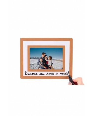 Cadre photo passe-partout 10x15cm I Turquoise I SlimPYX
