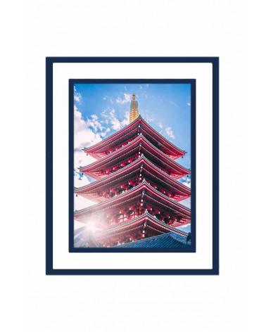 Cadre photo passe-partout 30x40cm I Imperial Blue I SlimPYX