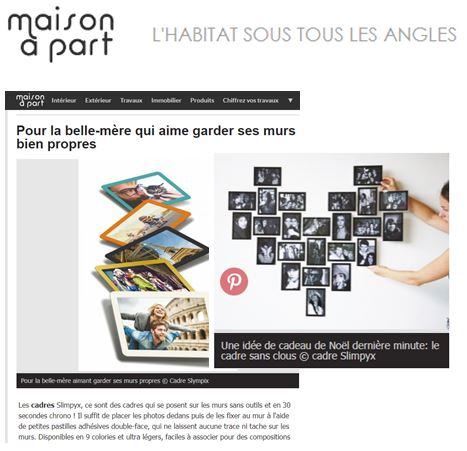 maison a part article Slimpyx
