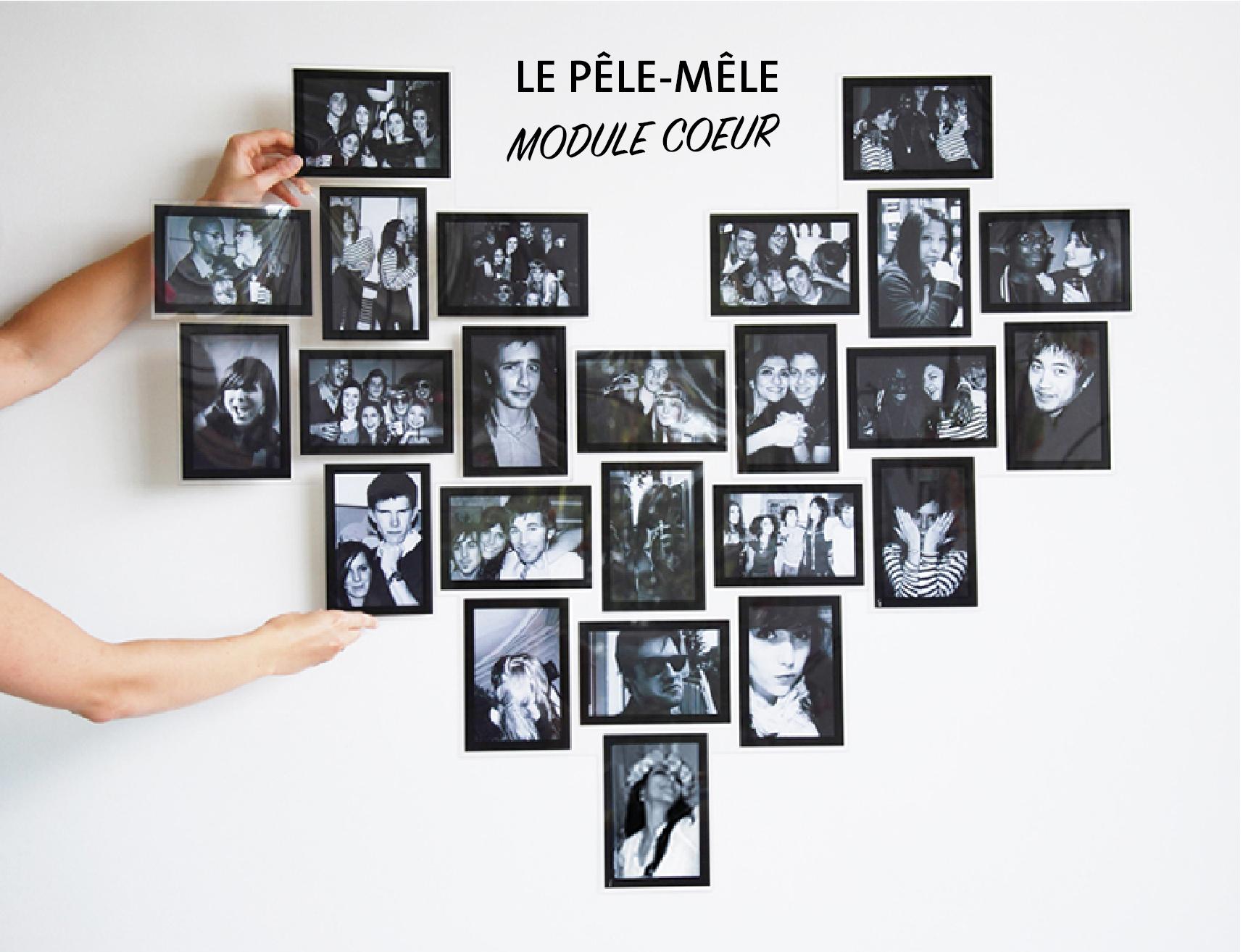 Cadre slimpyx pêle-mêle multi photo multi picture frame