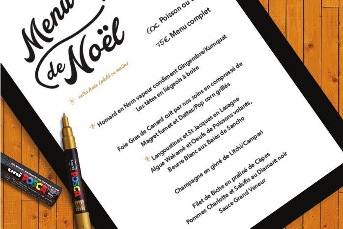 menu posca
