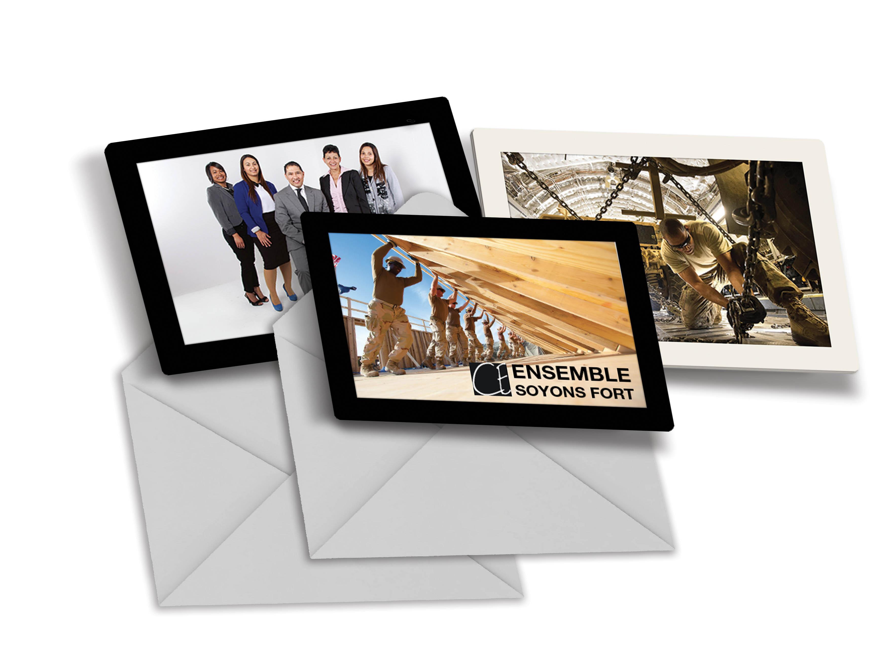 Enveloppe Slimpyx cadre photo pour les professionnels